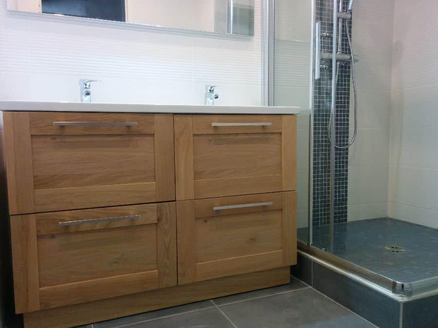 G 10 Rénovation salle de bains à Caluire