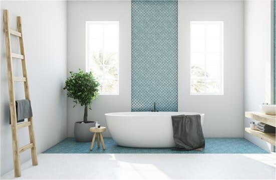 baignoire salle bains  lyon