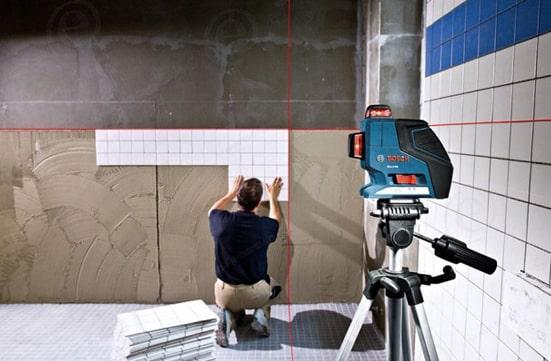laser Bosch rénovation