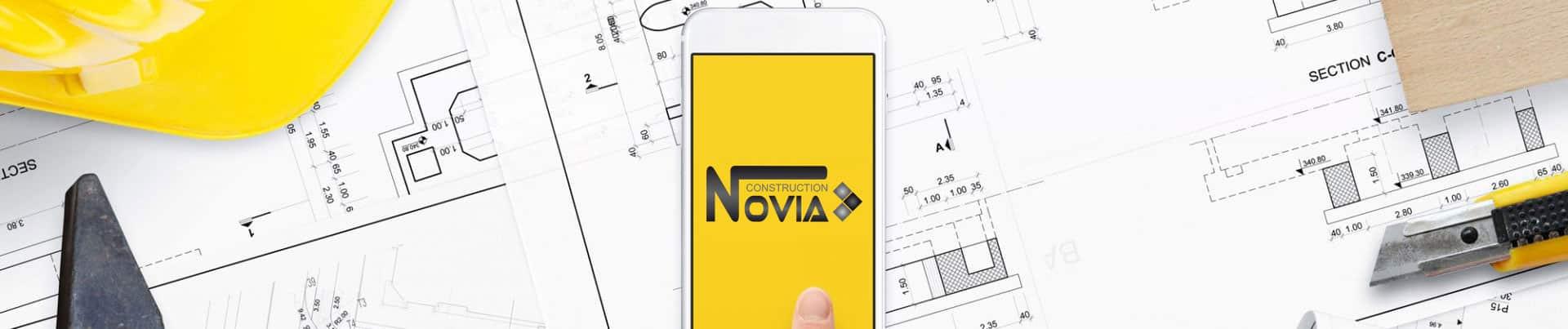 Contactez Novia construction